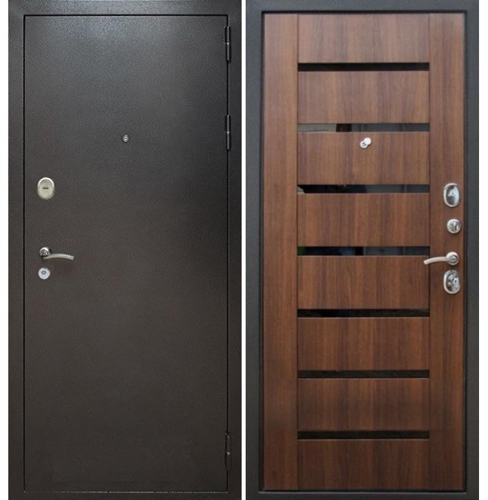 Стальная дверь Армада Титан СБ-14 (Орех бренди)
