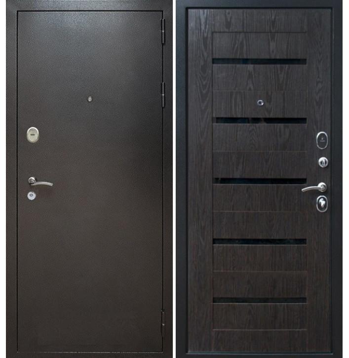 Стальная дверь Армада Титан СБ-14 (Венге тангент)