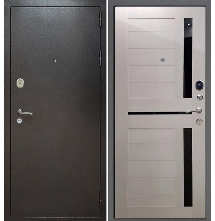 Стальная дверь Армада Титан СБ-18 (Лиственница беж)