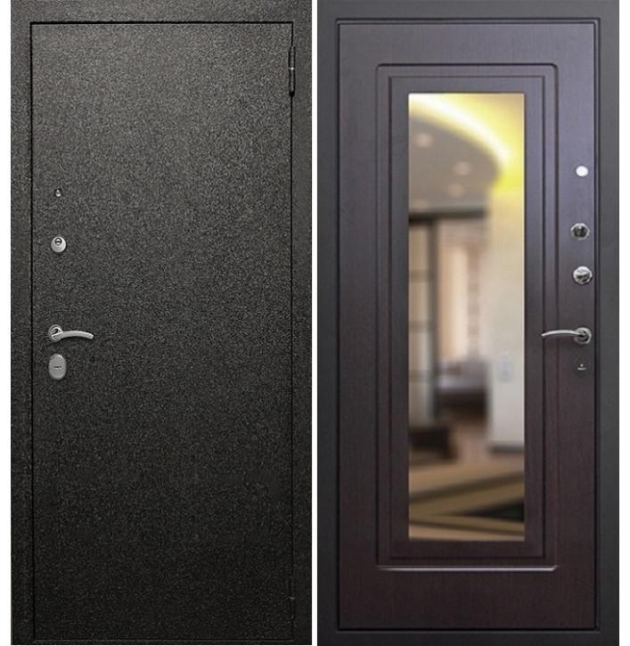 Стальная дверь Армада Верона 6 с зеркалом (Венге)