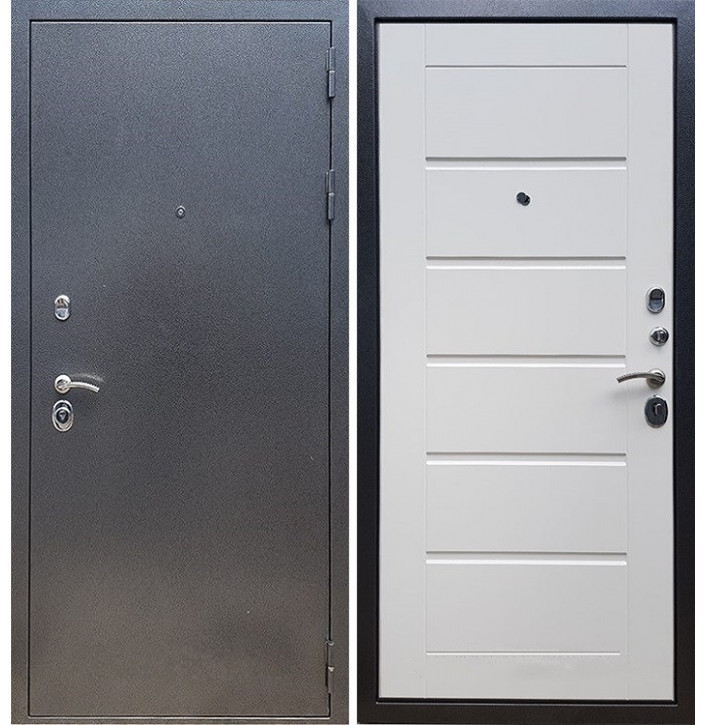 Стальная дверь Армада 11 (Белый ясень)
