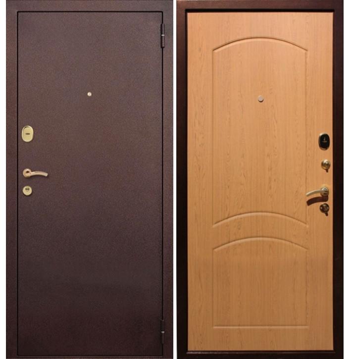 Стальная дверь Армада 1А (Дуб натуральный)