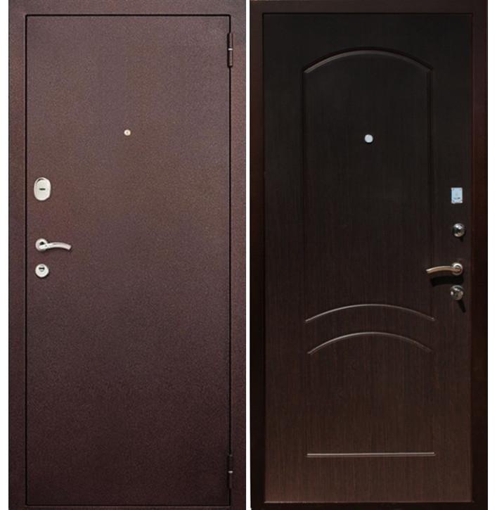 Стальная дверь Армада 1А (Венге)