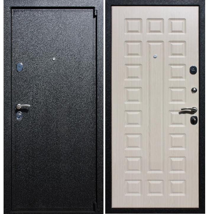 Стальная дверь Армада 3 (Беленый дуб)