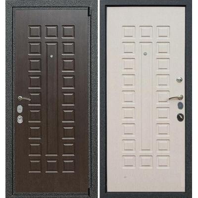 Стальная дверь Армада 4А Mottura (Беленый дуб)
