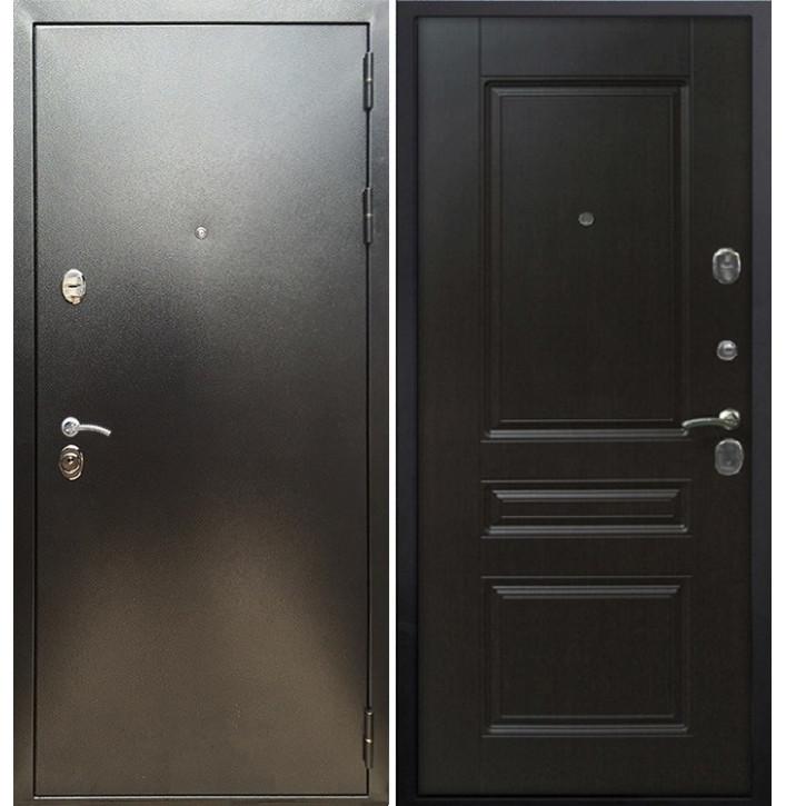 Стальная дверь Армада 5А ФЛ-243 (Антик серебро / Венге)