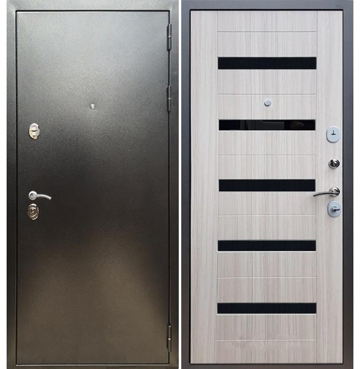 Стальная дверь Армада 5А СБ-14 (Антик серебро / Сандал белый)