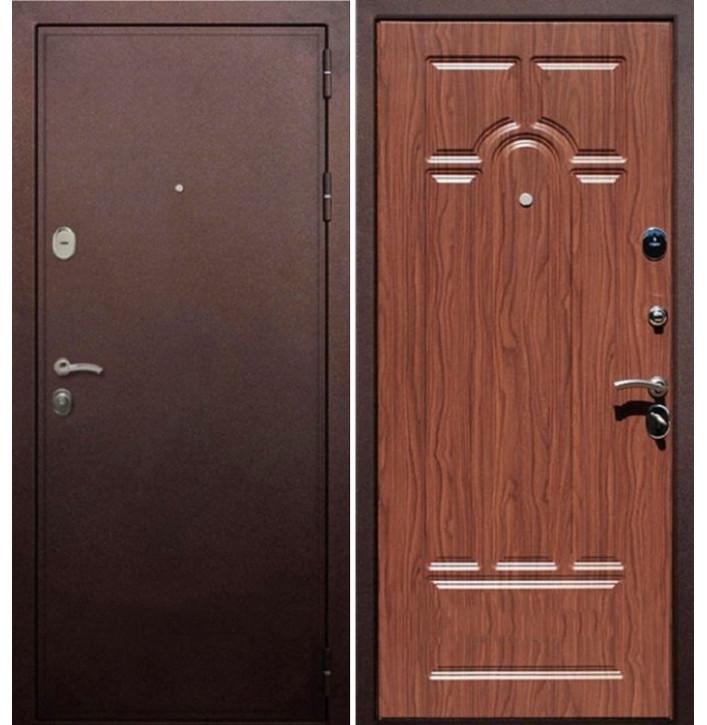 Стальная дверь Армада 5А (Антик медь / Орех)
