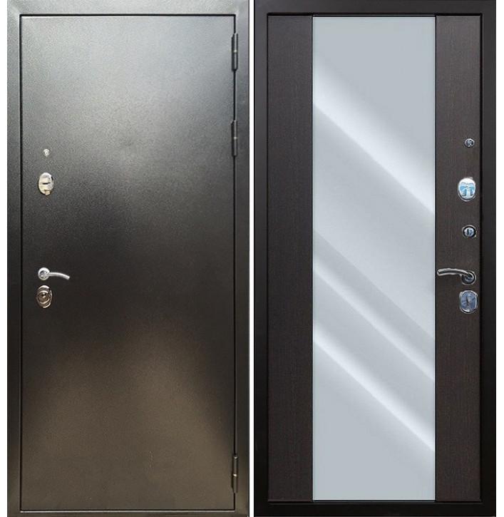 Стальная дверь Армада 5А СБ-16 (Антик серебро / Венге)