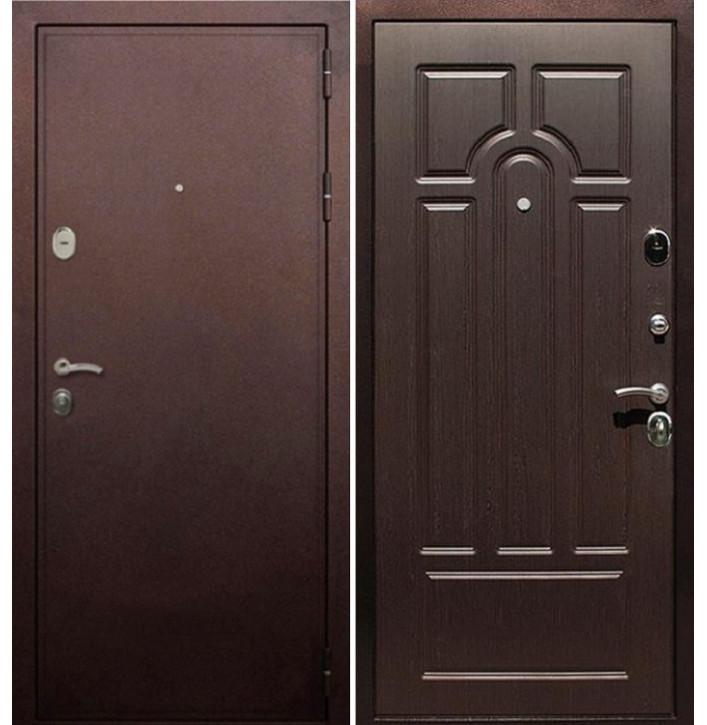 Стальная дверь Армада 5А (Антик медь / Венге)