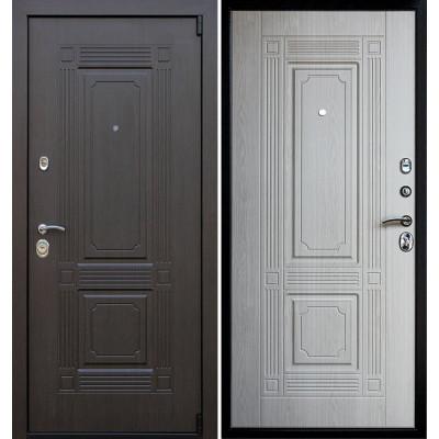 Стальная дверь Армада 9 Викинг (Беленый дуб)