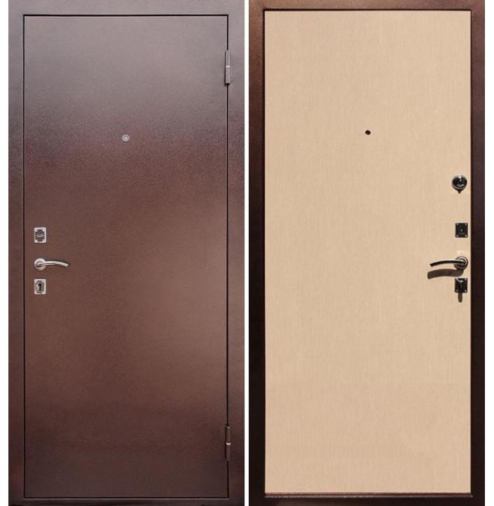 Стальная дверь Армада Эконом (Беленый дуб)