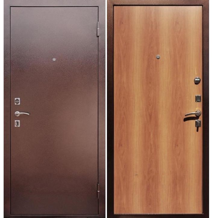 Стальная дверь Армада Эконом (Миланский орех)