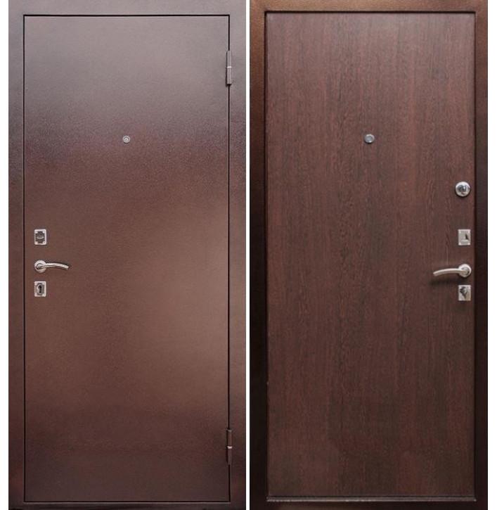 Стальная дверь Армада Эконом (Венге)