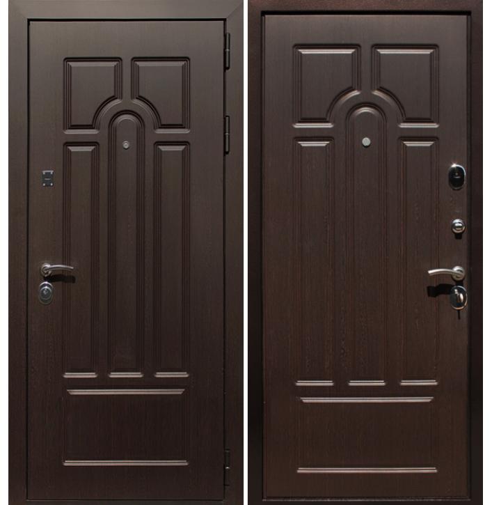 Стальная дверь Армада Эврика (Венге)