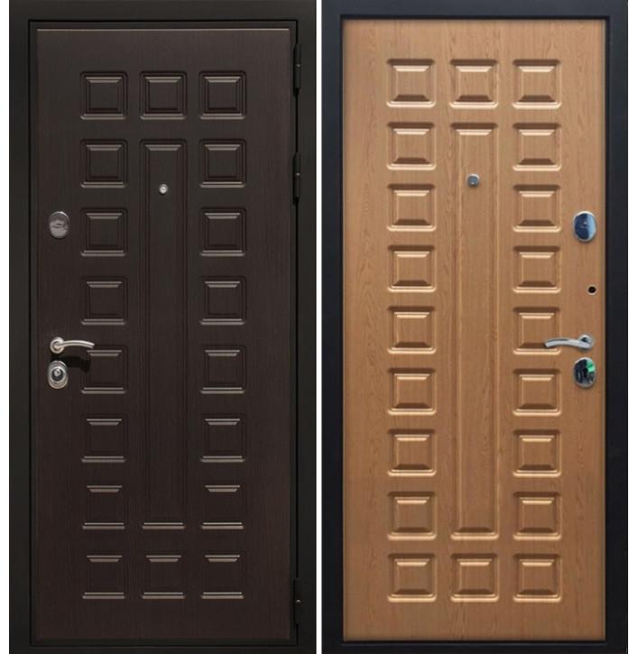 Стальная дверь Армада Премиум-3 (Дуб светлый)