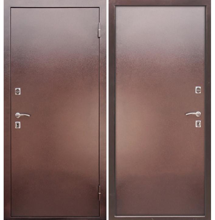 Стальная дверь Армада Металл (Антик медь)