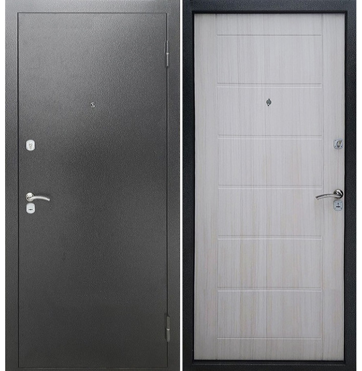 Стальная дверь Армада Сити (Сандал белый)