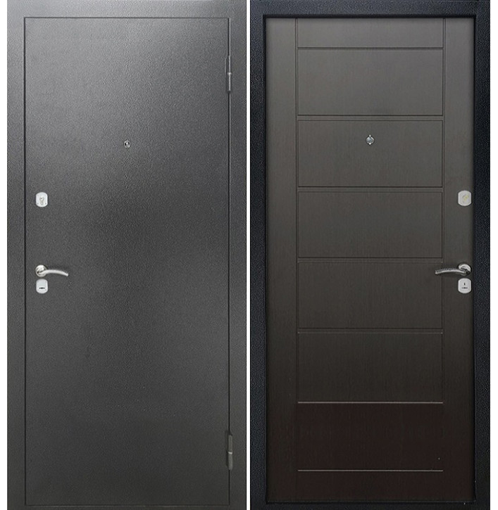 Стальная дверь Армада Сити (Венге)